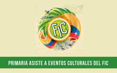Eventos culturales FIC