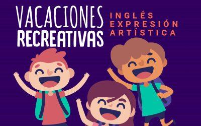 Vacaciones recreativas, inglés y expresión artística